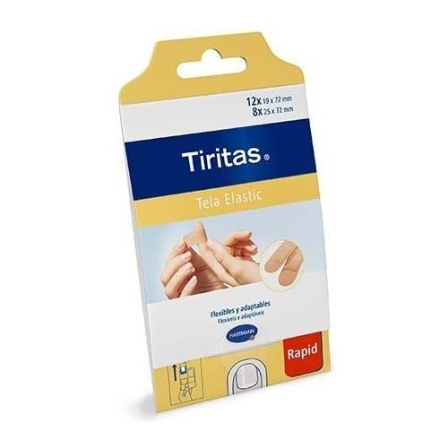 TIRITAS ELASTIC RAPID APOSITO ADHESIVO TEXTIL