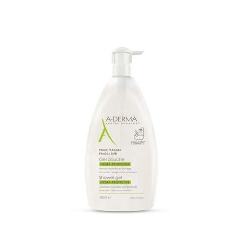 A-derma gel de ducha hidra-protector (1 envase 750 ml)