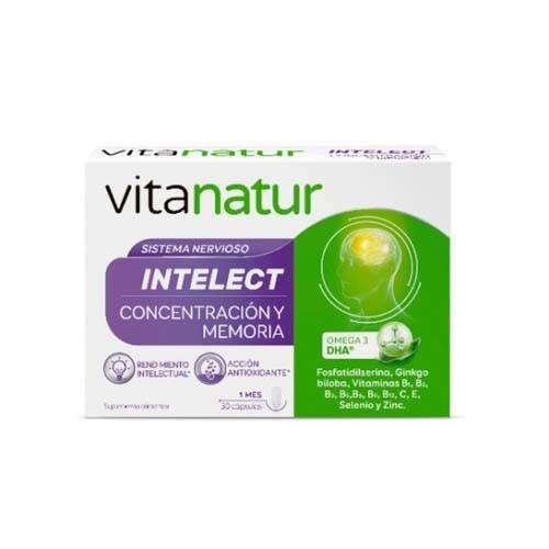 Vitanatur intelect (30 capsulas)