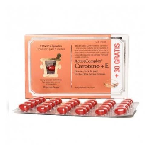 Activecomplex caroteno+e (150 capsulas)
