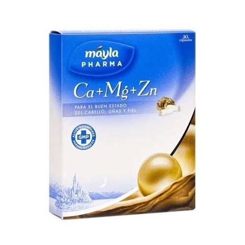 Ca+ mg+ zn 30 caps