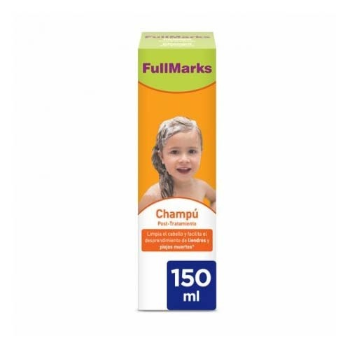 Fullmarks champu post- tratamiento pediculicida (150 ml)