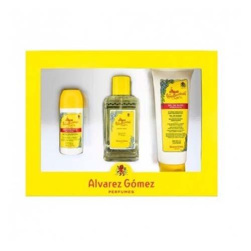Estuche linea concentrada colonia + desodorante + gel - alvarez gomez (150 ml + 75 ml + 230 ml)