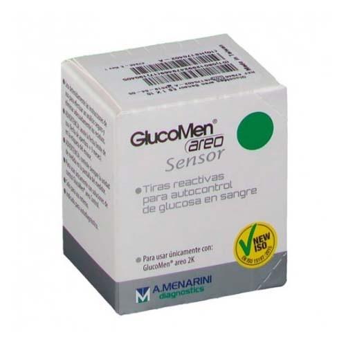 Tiras reactivas glucemia - glucomen areo sensor (25 tiras reactivas)