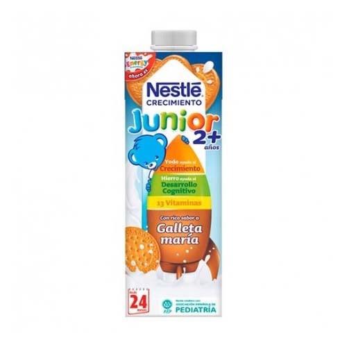 Nestle junior crecimiento 2+ galleta (brik 1 l)