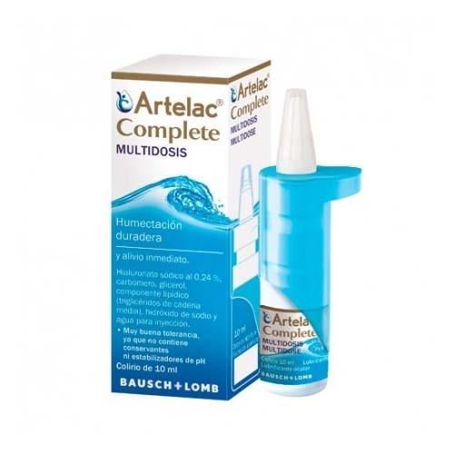 Artelac complete esteril gotas oculares (10 ml multidosis)