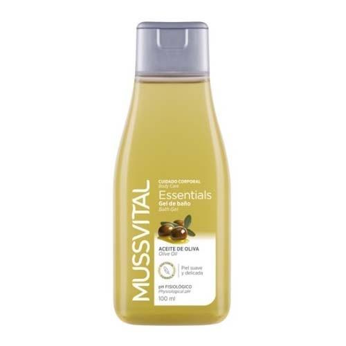 Mussvital essentials gel de baño con aceiteoliva (100 ml)
