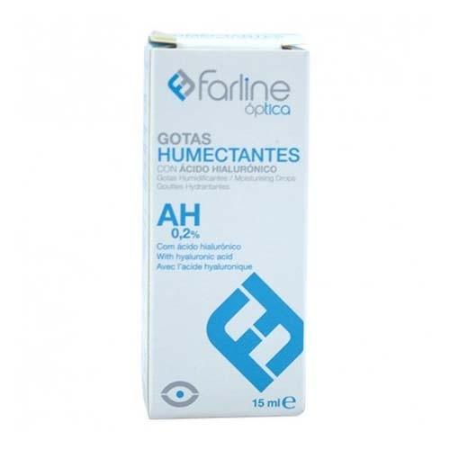 Farline optica gotas humectantes ah 0.2% - gotas oftalmicas esteriles (1 envase 15 ml)