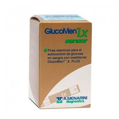 Tiras reactivas glucemia - glucomen lx sensor (100 u)