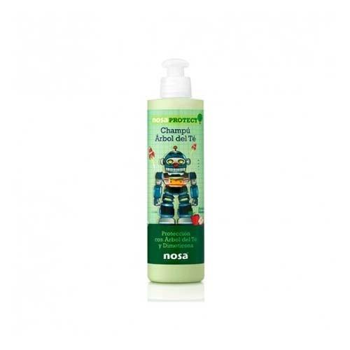 Nosa natural champu aceite del arbol del te (verde 250 ml)