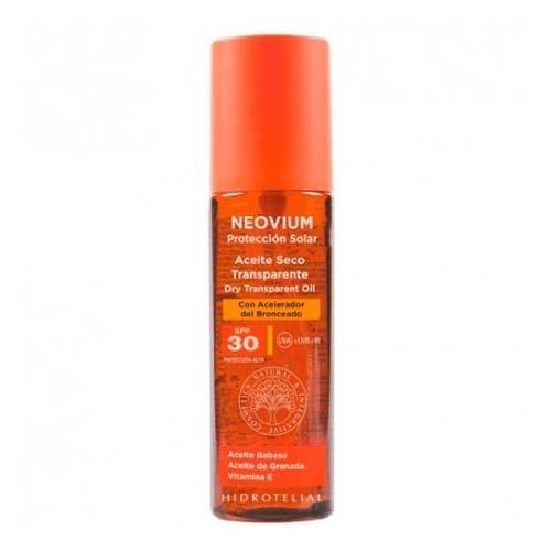 Hidrotelial neovium spf 30 aceite seco transparente (200 ml)