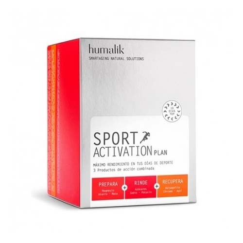 Sport activation (10 sobres + 20 comprimidos pack)