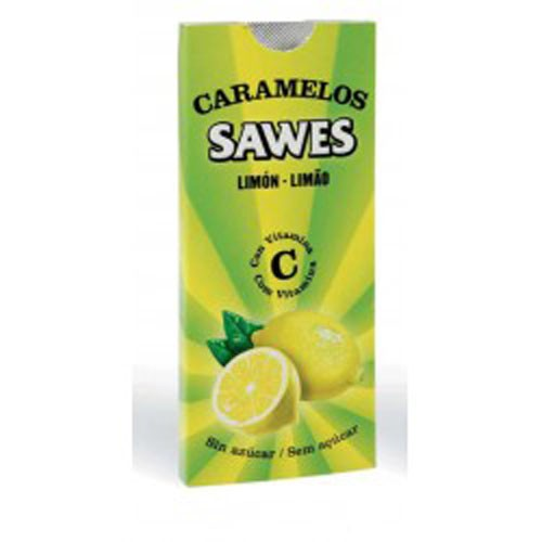 Sawes caramelos blister sin azucar (lemon blister 22 g)