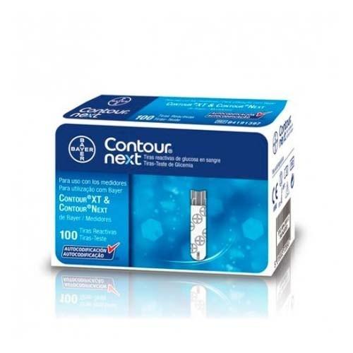 Tiras reactivas glucemia - contour next (100 u)