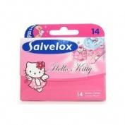 Salvelox - aposito adhesivo (hello kitty 14 u)