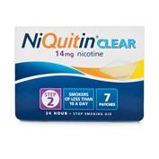 NIQUITIN CLEAR 14 mg, 24 HORAS PARCHE TRANSDERMICO, 14 parches transdermicos