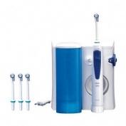 Oxyjet irrigador dental electrico - oral b professional (c/ 4 cabezales)