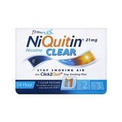 NIQUITIN CLEAR 21 mg/24 HORAS PARCHES TRANSDERMICOS, 7 parches transdérmicos