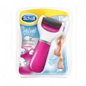Scholl velvet smooth - lima electronica con recambio exfoliante (rosa)