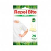 Repel bite natural parches ropa c/ citronella (24 aplicaciones)