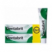 Dentabrit fluor (125 ml 2 u)