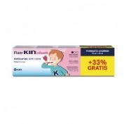 Fluor kin infantil pasta dentifrica (fresa 75 ml)