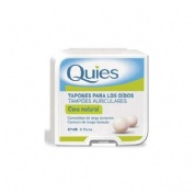 TAPONES OIDOS CERA QUIES NATURAL 16 U