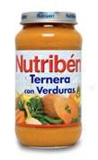 Nutriben ternera con verdura (potito grandote 250 g)