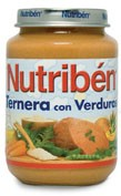 Nutriben ternera con verdura (potito junior 200 g)